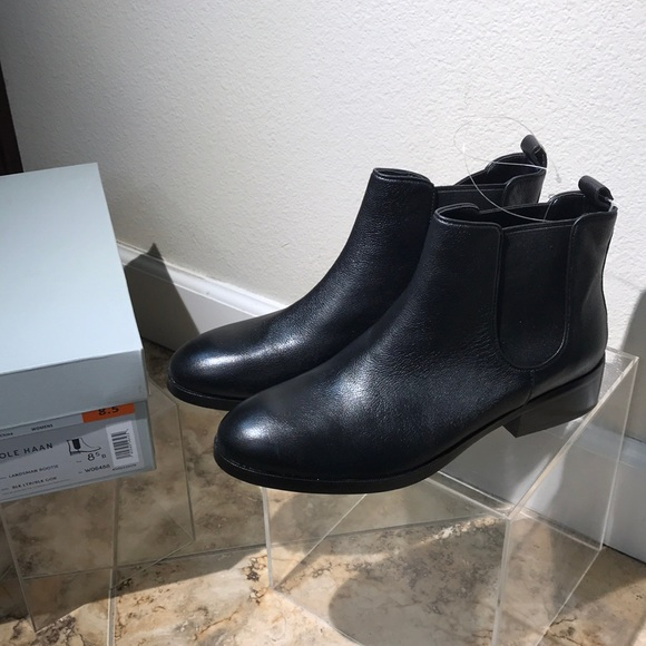 3b0a835d12c Cole Haan Shoes | Landsman Bootie Size 85 Black Leather | Poshmark